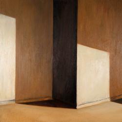 002_GapArte - CALUSCA, Sole in una stanza vuota,2002,t.m.,cm90x90